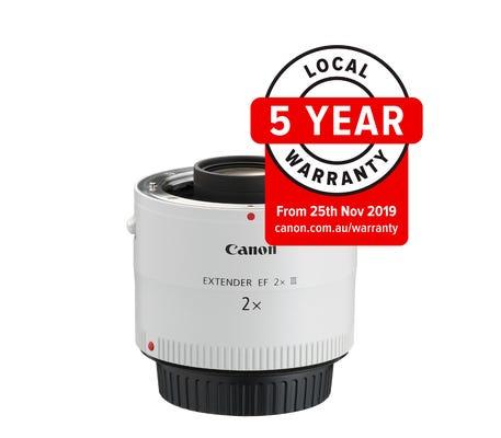 Canon EF 2x lll Extender Lens