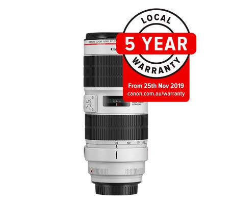 Canon EF 70-200mm f/2.8L IS III USM Telephoto Lens