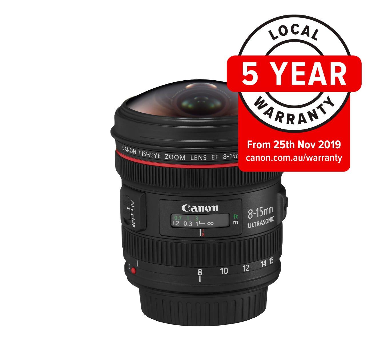 Canon EF 8-15mm f/4L Fisheye Zoom Lens - Catawiki