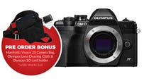 Olympus OM-D E-M10 Mark IV Black Body BONUS Bag, Cleaning Cloth & SD Card Holder