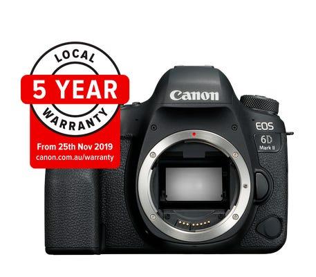 Canon EOS 6D Mark II Body Digital SLR Camera w/Battery Grip