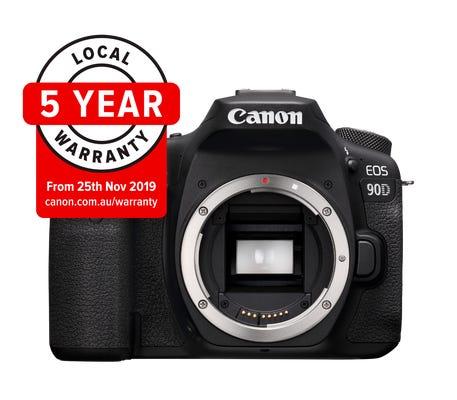 Canon EOS 90D Body Black Digital SLR Camera