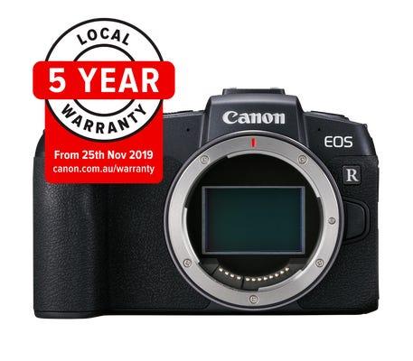 Canon EOS RP Body & EF-EOSR Lens Adapter Full Frame Mirrorless Camera