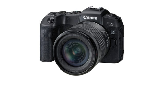 Canon EOS RP w/RF24-105mm f/4-7.1 IS STM Lens Compact System Camera