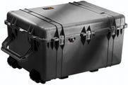 Pelican 1630 Black Case with Padded Dividers