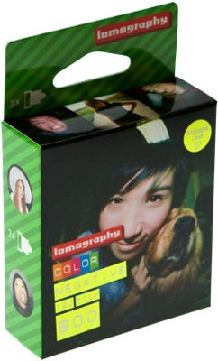 Lomography 800 ISO 120 Roll (3 Pack) - Colour Negative Film
