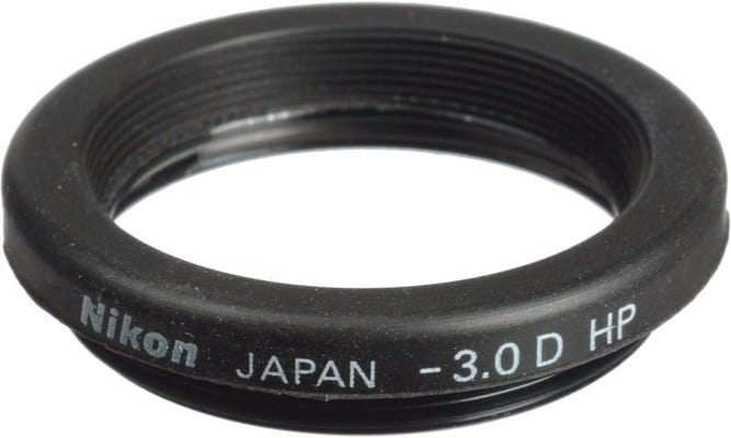 Nikon Diopter Eyepiece Correction -3