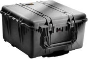 Pelican 1640 Black Transport Case with Padded Dividers