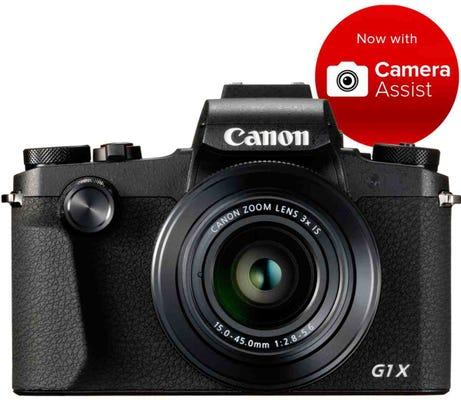 Canon Powershot G1X Mark III Digital Compact Camera