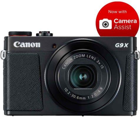 Canon Powershot G9X Mark II Black Digital Compact Camera