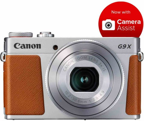 Canon Powershot G9X Mark II Silver Digital Compact Camera