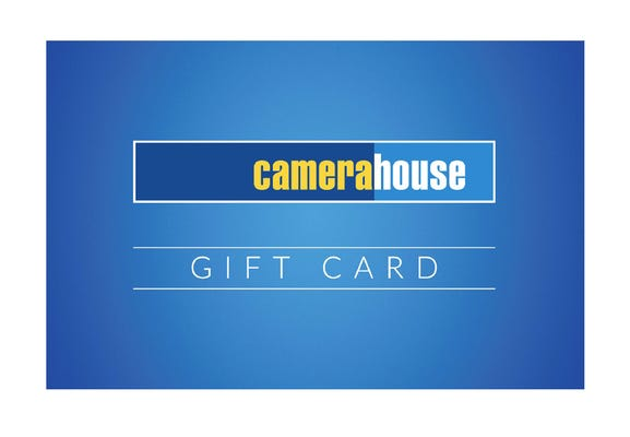 Camera House Gift Card - $150