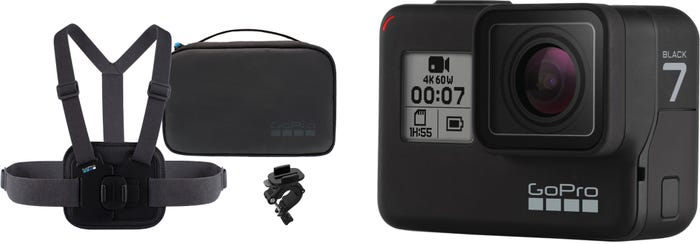 GoPro HERO 7 Black with Sports Accessory Kit