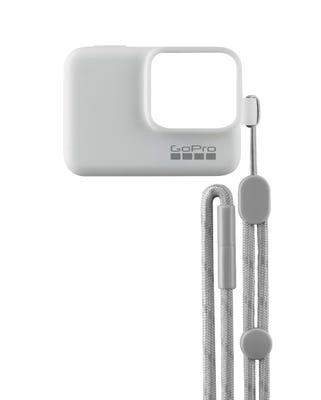 GoPro Sleeve & Lanyard - White (HERO7/6/5)
