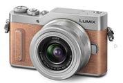 Panasonic GX880 w/12-32mm Orange/Silver Compact System Camera