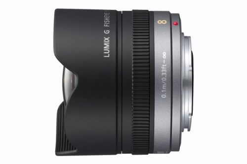 Panasonic 8mm f/3.5 Fisheye Lens