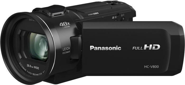 Panasonic HC-V800 FHD Leica 24X Zoom Digital Video Camera