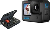 GoPro HERO10 Black BUNDLE with SP Gadgets POV Large Case for GoPro Cameras