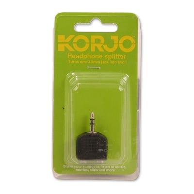 Korjo Headphone Splitter - Share your music