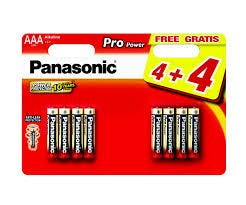 Panasonic AAA 8 Pack Alkaline Battery