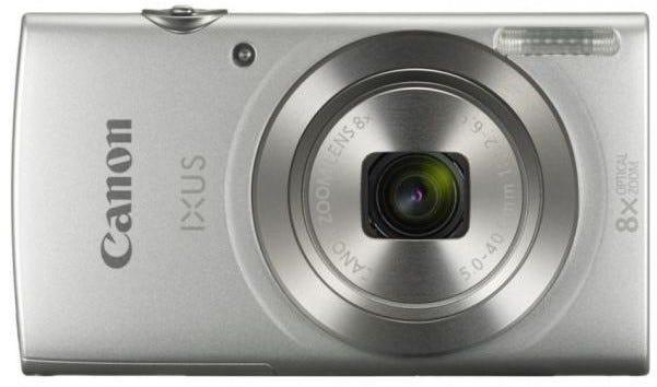Canon IXUS 185 Silver Digital Compact Camera