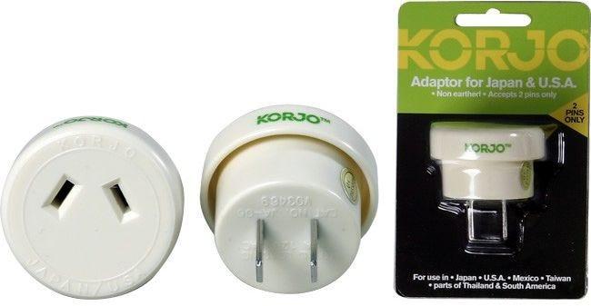 Korjo Japan & USA 2pin Adaptor