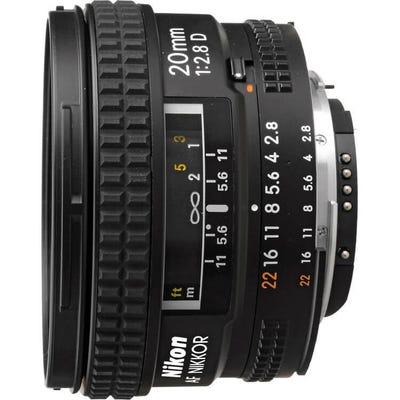 Nikon AF 20mm f/2.8D Wide Angle Lens