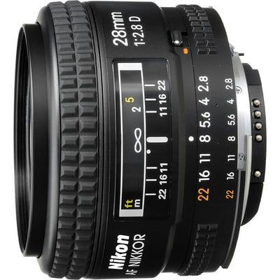 Nikon AF 28mm f/2.8D Wide Angle Lens