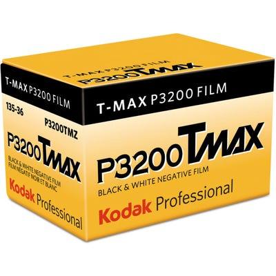 Kodak TMAX TMZ P3200 ISO Professional 35mm 36 Exposure - Black & White Negative Film