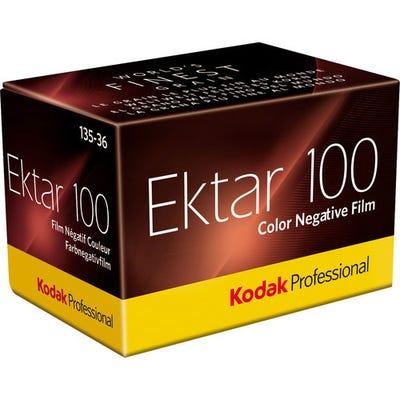 Kodak Ektar 100 ISO Professional 35mm 36 Exposure - Colour Negative Film