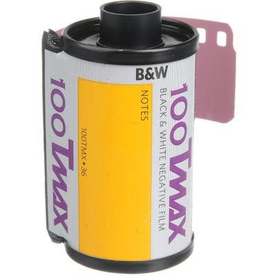 Kodak TMAX 100 ISO Professional 35mm 36 Exposure - Black & White Negative Film