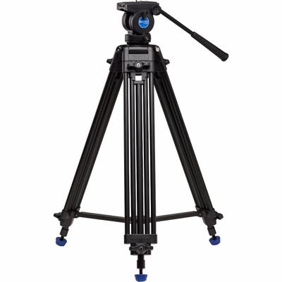 Benro KH25N Video Tripod & K5 Head - 60mm Bowl, Dual Stage, Quck Lock & Leg Release