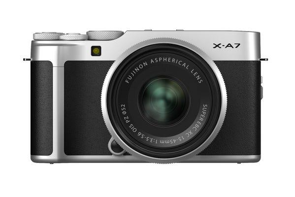 Fujifilm X-A7 w/ XC15-45mm F3.5-5.3 OIS PZ Lens Silver