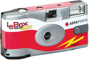 Agfa LeBox Party Pack includes - 10 x Agfa 400 35mm Disposable Film Cameras