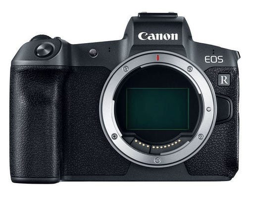 Canon EOS R Body w/BGE22 Grip Full Frame Mirrorless Camera