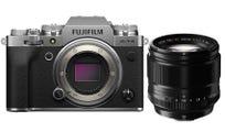 FujiFilm X-T4 Body Silver w/XF 56mm f/1.2R Lens Compact System Camera
