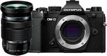 Olympus OM-D E-M5 Mark III Black w/12-100mm Lens Compact System Camera