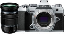 Olympus OM-D E-M5 Mark III Silver w/12-100mm Lens Compact System Camera