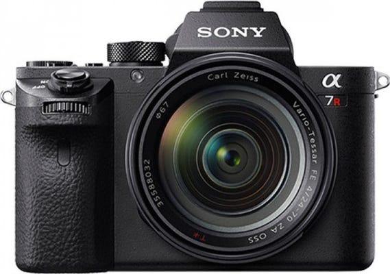 Sony A7R II Compact System Camera w/24-70mm f/4 Lens