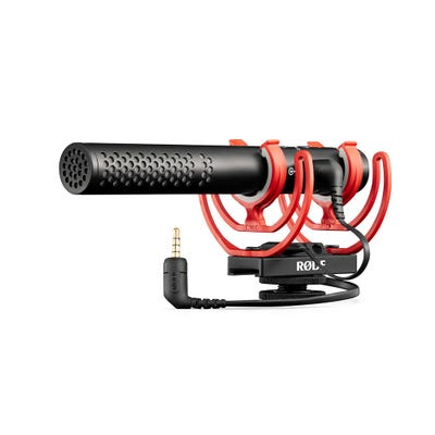 Rode VideoMic NTG On-Camera Shotgun Microphone with Rode SC15 Lightning Cable