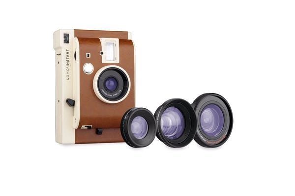 Lomography Lomo'Instant Camera with 3 Lenses Kit - Sanremo