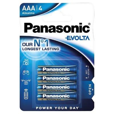 Panasonic Evolta AAA 4pk Alkaline Battery