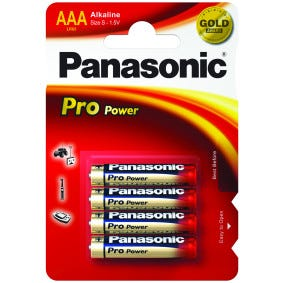 Panasonic AAA 4 Pack Alkaline Battery