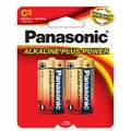 Panasonic C Size 2 Pack Alkaline Battery