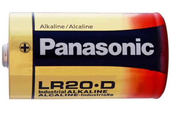 Panasonic D Size 12 Pack Alkaline Battery