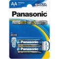 Panasonic Evolta AA  2 Pack Premium Alkaline Battery