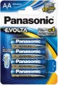 Panasonic Evolta AA 4 Pack Alkaline Battery