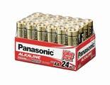 Panasonic AA 24 Pack Alkaline Battery