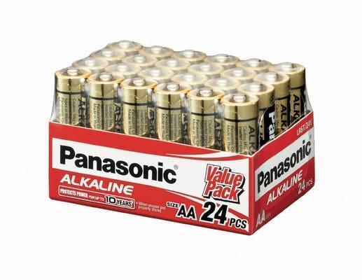 Panasonic AAA 24 Pack Alkaline Battery