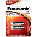 Panasonic AA 2 Pack Alkaline Battery
